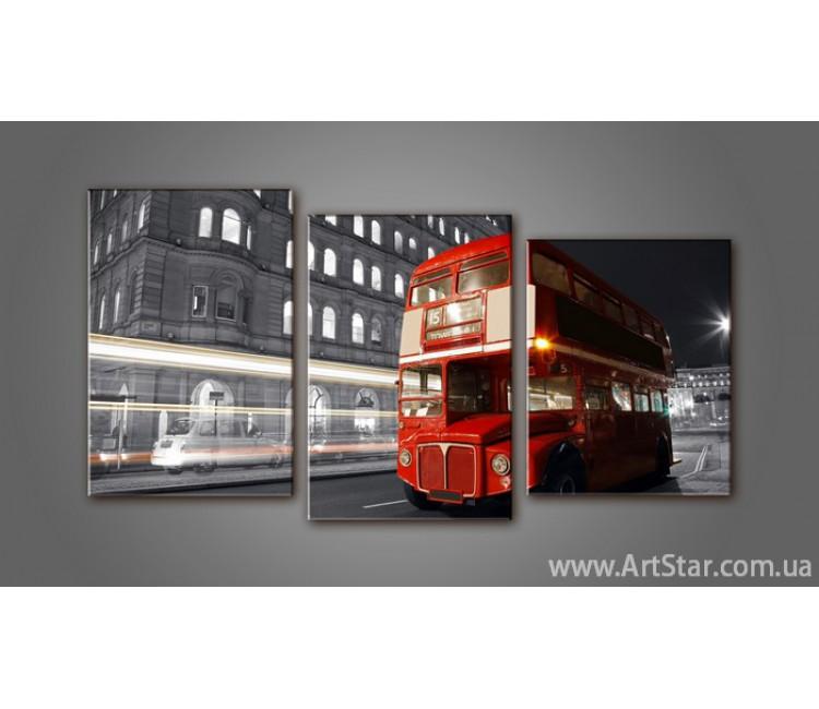 Модульная картина Панорама Лондон