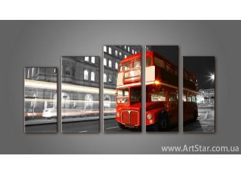 Модульная картина Панорама Лондон (5)