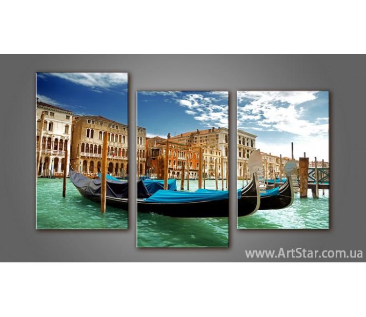 Модульная картина Панорама Венеция 2
