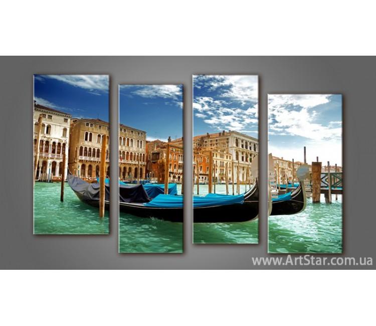 Модульная картина Панорама Венеция (4) 2