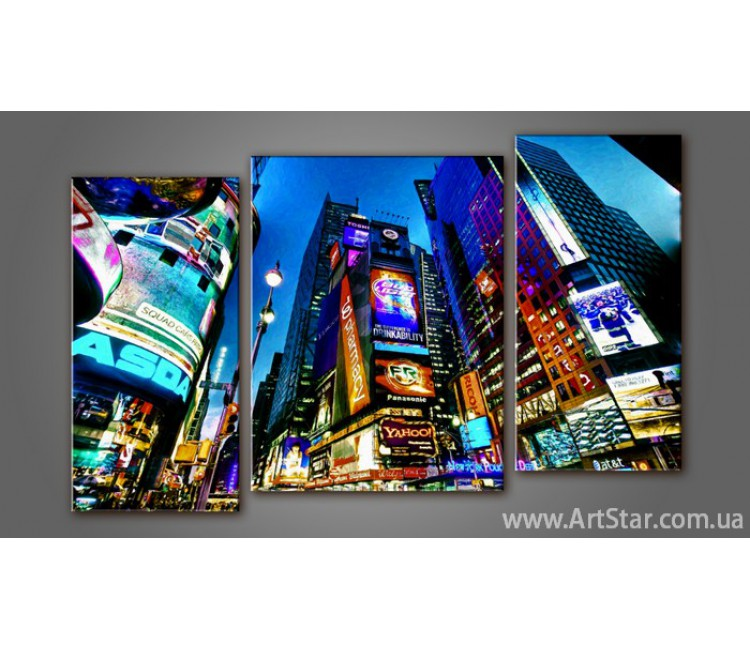 Модульная картина Панорама New York 2