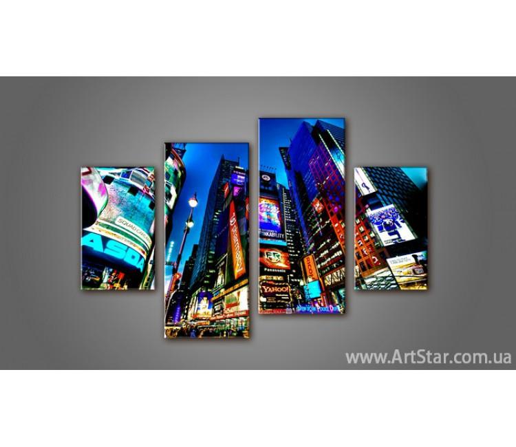Модульная картина Панорама New York (4) 3