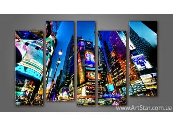 Модульная картина Панорама New York (5)