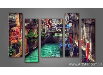 Модульная картина Панорама Венеция (5) 3