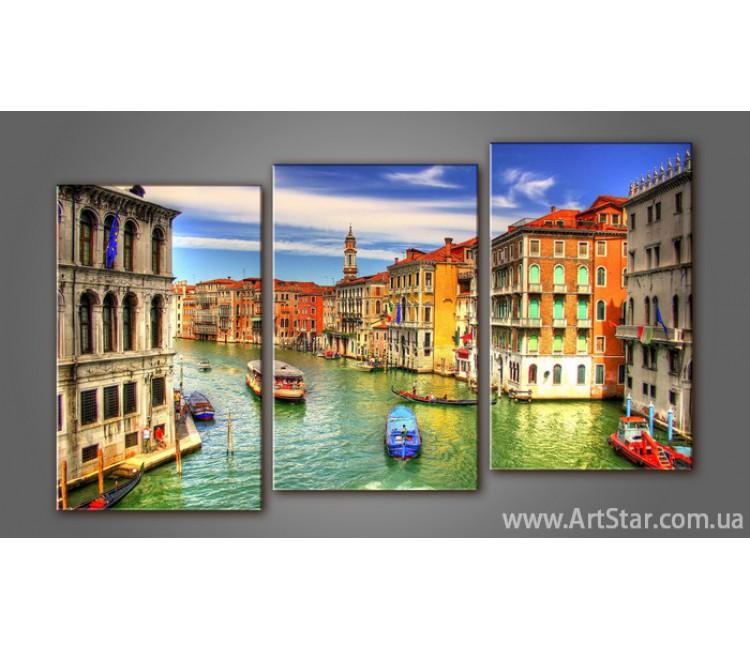 Модульная картина Панорама Венеция 4