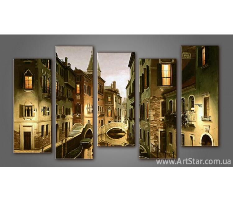 Модульная картина Панорама Город (5) 4