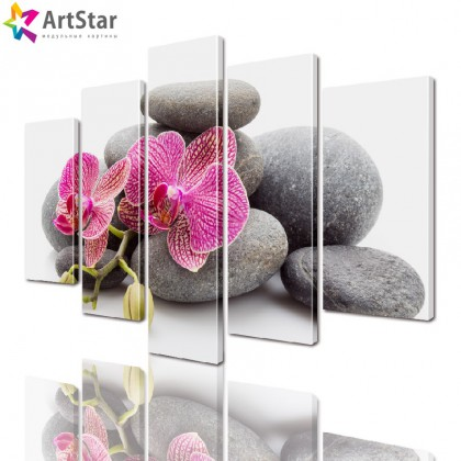 Модульные картины - Цветы, Art. flrs_0238