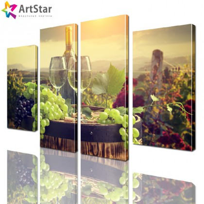 Модульная картина - на кухню, Art. kit_0079