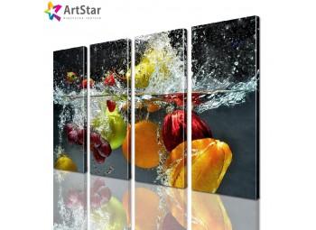 Модульная картина - для кухни, Art. kit_0056