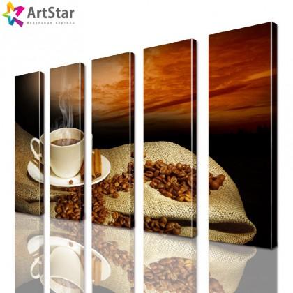 Модульные картины - Кофе, Art. kit_0094