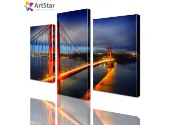 Модульная картина - мост Сан-Франциско, Art. sity_0101