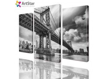 Модульная картина - Бруклинский мост, Art. sity_0110