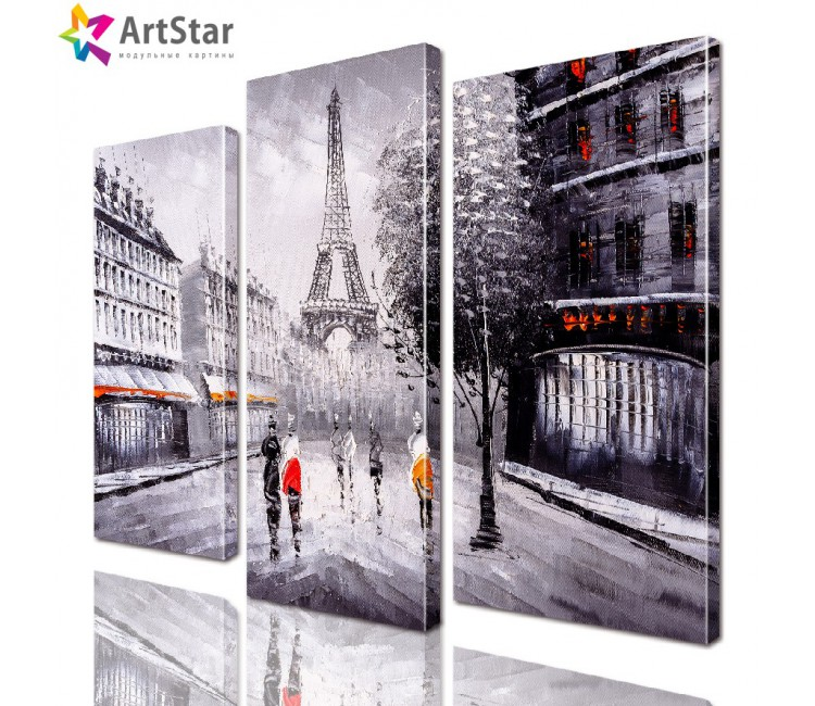 Модульная картина - Париж, Art. sity_0361