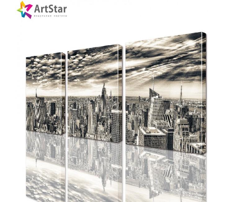 Модульная картина - Город, Art. sity_0003