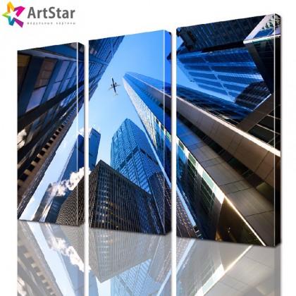 Модульная картина - Город, Art. sity_0031