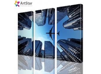 Модульная картина - Город, Art. sity_0037