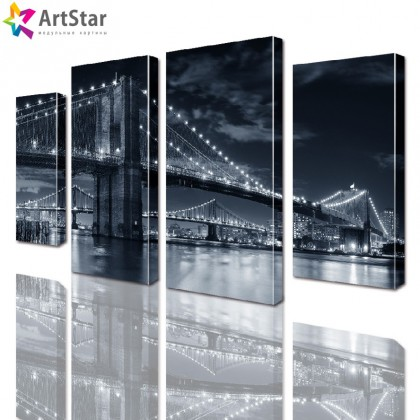 Модульные картины - Бруклинский мост, Art. sity_0179