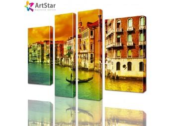 Модульные картины - Венеция, Art. sity_0209
