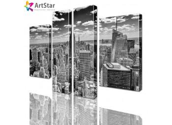 Модульные картины - Город, Art. sity_0223