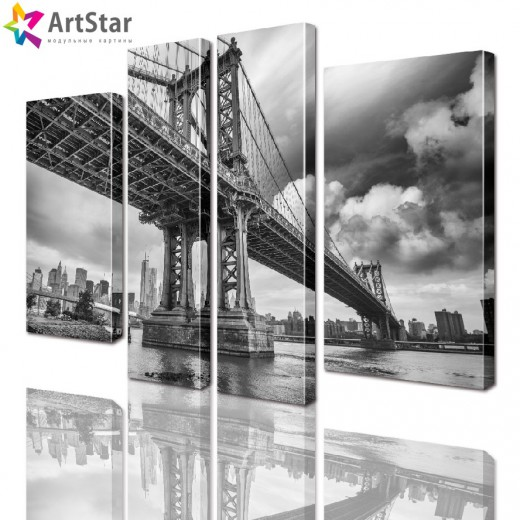Модульные картины - Бруклинский мост, Art. sity_0225