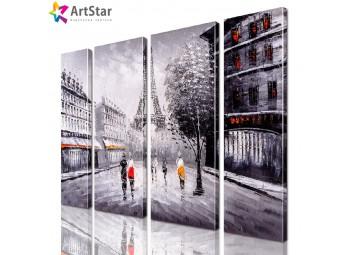 Модульные картины - Город, Art. sity_0367