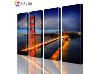 Модульные картины - Мост Сан-Франциско, Art. sity_0158