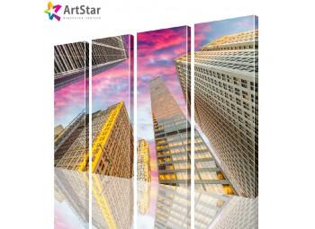 Модульные картины - Город, Art. sity_0174