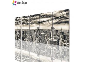Модульные картины - Город, Art. sity_0237