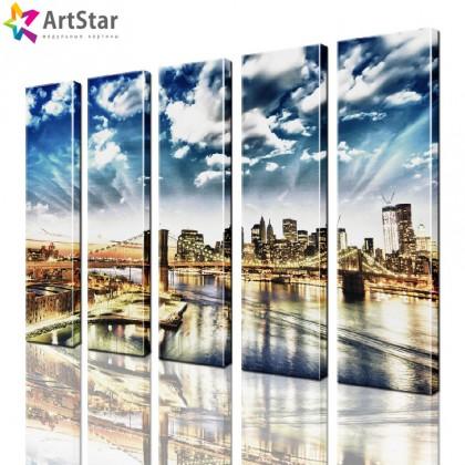 Модульные картины - Город, Art. sity_0276