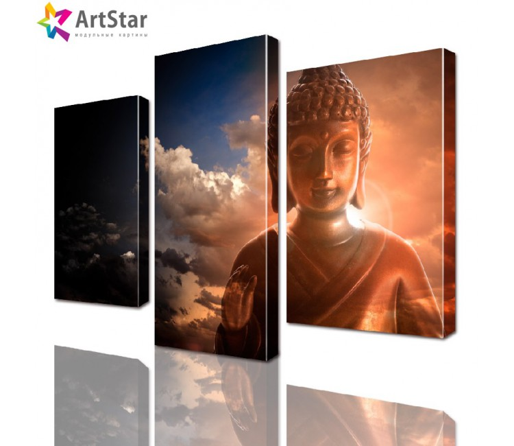 Модульная картина - Будда, Art. inter_0022