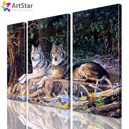 Картина модульная - Животные, Art. anml_0162