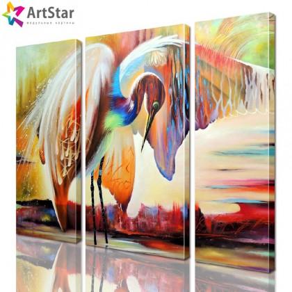 Картина модульная - Животные, Art. anml_0164