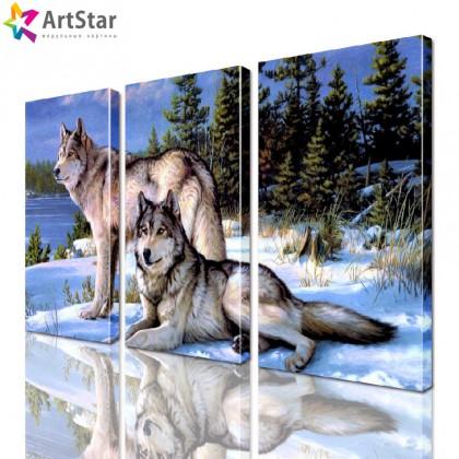 Картина модульная - Животные, Art. anml_0168
