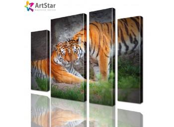 Модульная картина - животные, Art. anml_0091