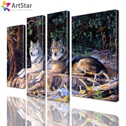 Модульная картина - Животные, Art. anml_0228
