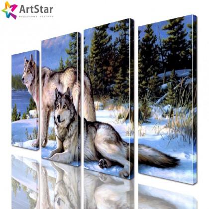 Модульная картина - Животные, Art. anml_0234