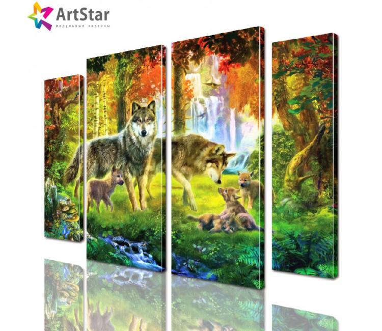 Модульная картина - Животные, Art. anml_0235