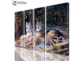 Модульная картина - Животные, Art. anml_0206