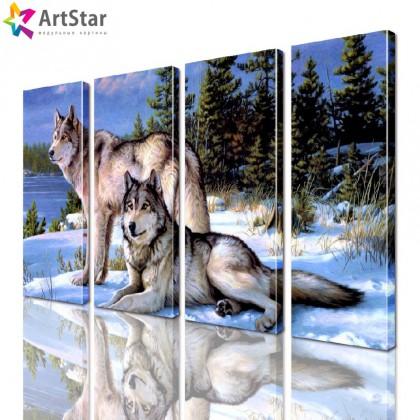 Модульная картина - Животные, Art. anml_0212