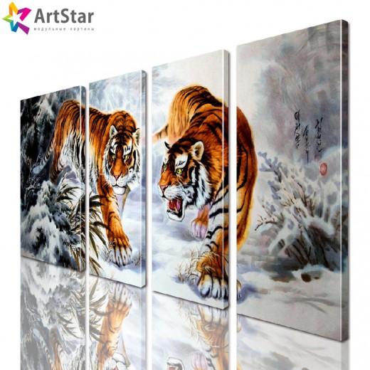 Модульная картина - Животные, Art. anml_0215