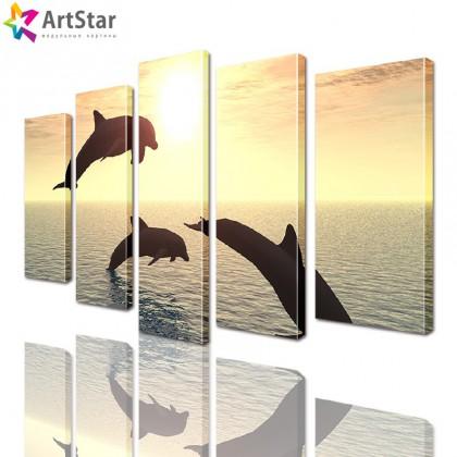 Модульные картины - животные, Art. anml_0122