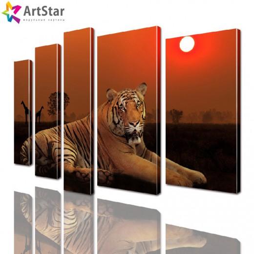 Модульные картины - животные, Art. anml_0138