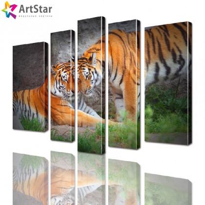 Модульные картины - животные, Art. anml_0139