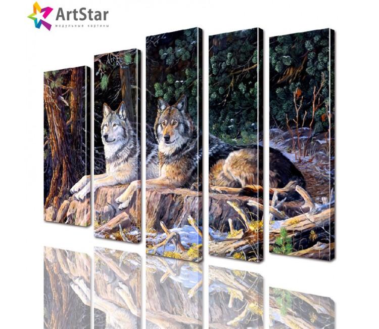 Модульные картины - животные, Art. anml_0271