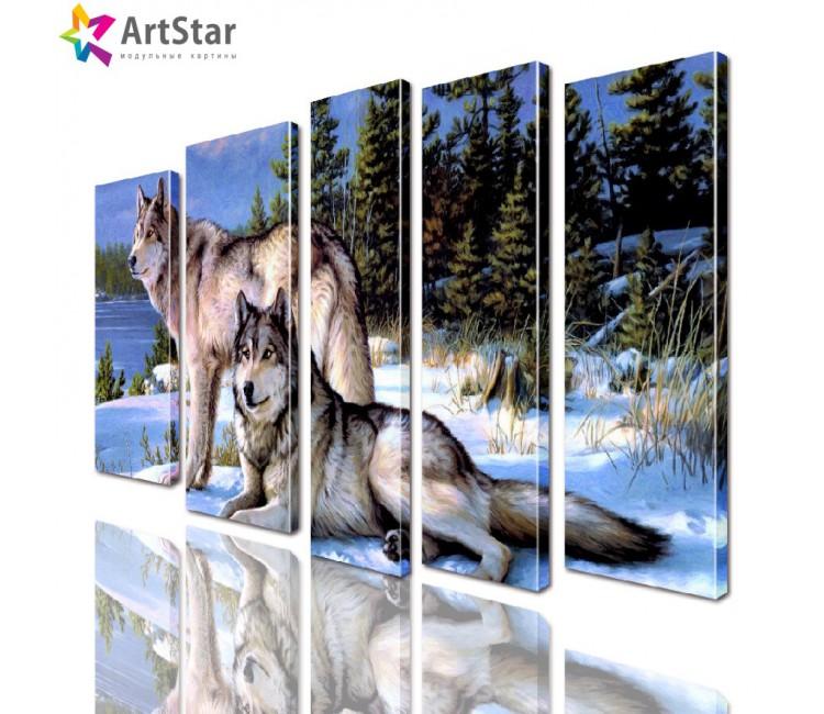 Модульные картины - животные, Art. anml_0277