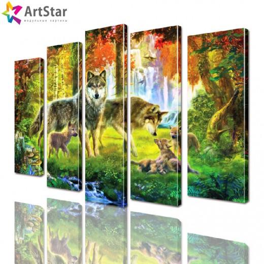 Модульные картины - животные, Art. anml_0278