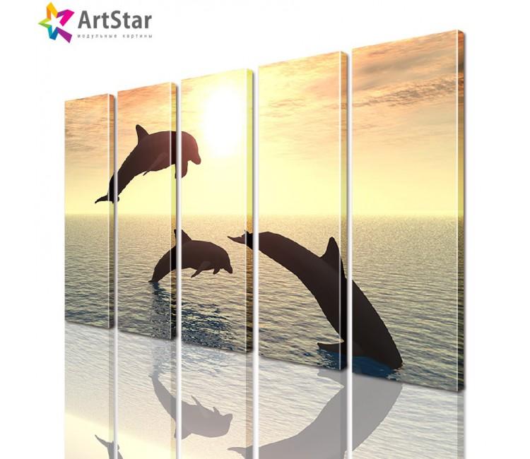 Модульные картины - животные, Art. anml_0098