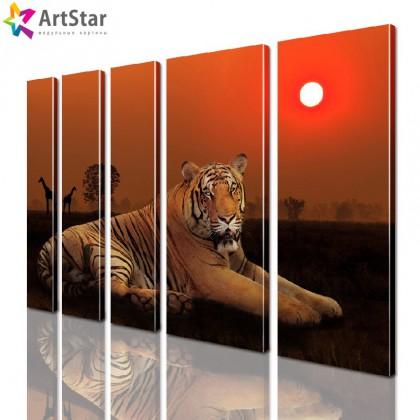 Модульные картины - животные, Art. anml_0114