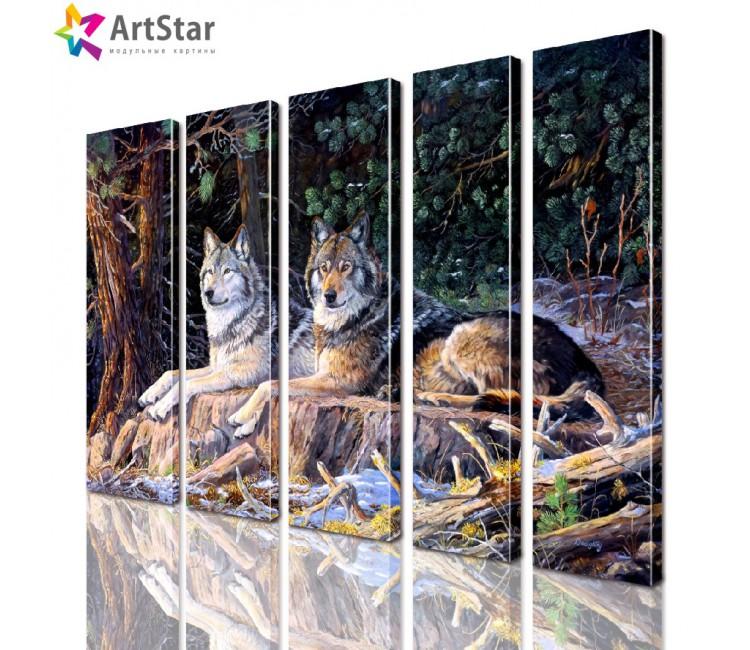 Модульные картины - животные, Art. anml_0250