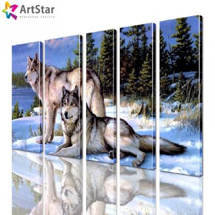 Модульные картины - животные, Art. anml_0255